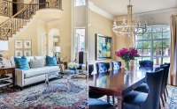 Blue-Based Redesign Blends Traditional and Fresh Dcor ...