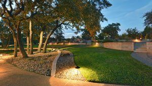 Custom Outdoor Lighting In Austin, Texas Southern Landscape