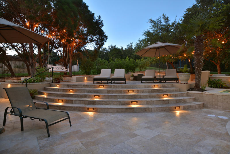 Southern Landscape outdoor Custom Patio Design and