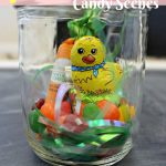 7 Easter Candy Mason Jar Scenes