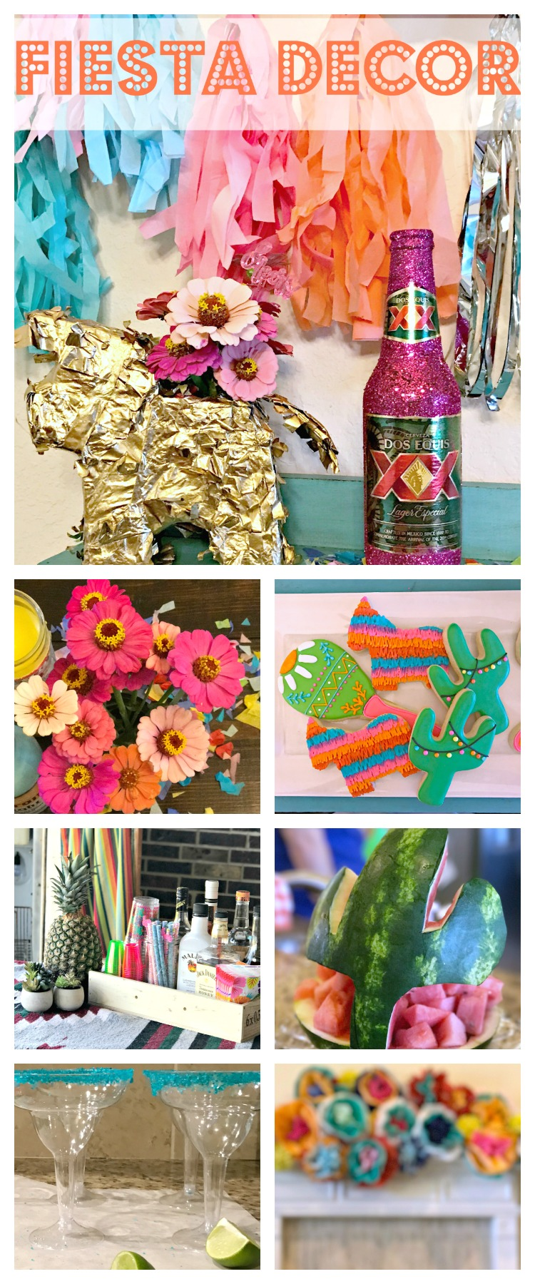 Throwing a Fiesta?! It's the perfect theme for any occasion! Get tons of Fiesta decor ideas & inspiration here!