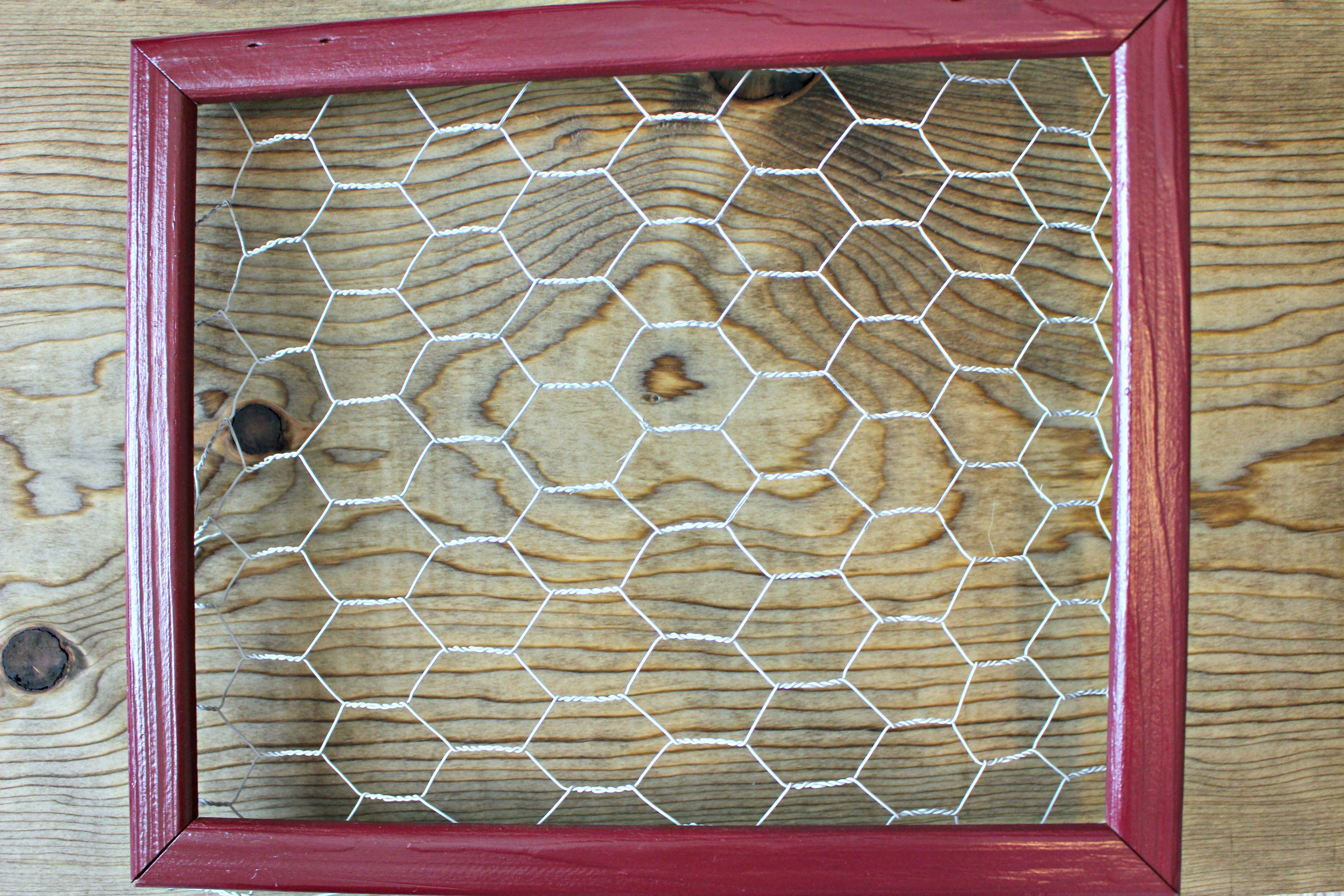 DIY Chicken Wire Frames