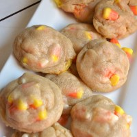 Soft Batch Candy Corn Cookies