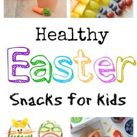 Healthy Easter Snack Crafts for Kids