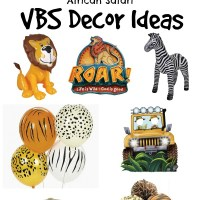 Roar! VBS Decor Ideas