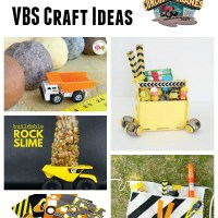 Concrete & Cranes VBS Craft Ideas