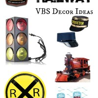 Rocky Railway VBS Decor Ideas