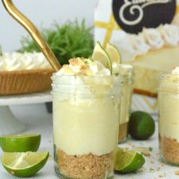 Mason Jar Key Lime Pie Sundae Trifles + GIVEAWAY!