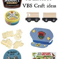 Rocky Railway VBS Craft Ideas