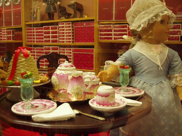 Image result for american girl tea