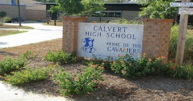Calvert Sheriff's Office Investigating Racist Graffiti at Calvert High School