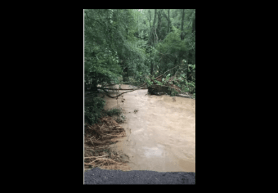Tropical Storm Isaias Leaves Calvert Families Trapped After Road Swept Away