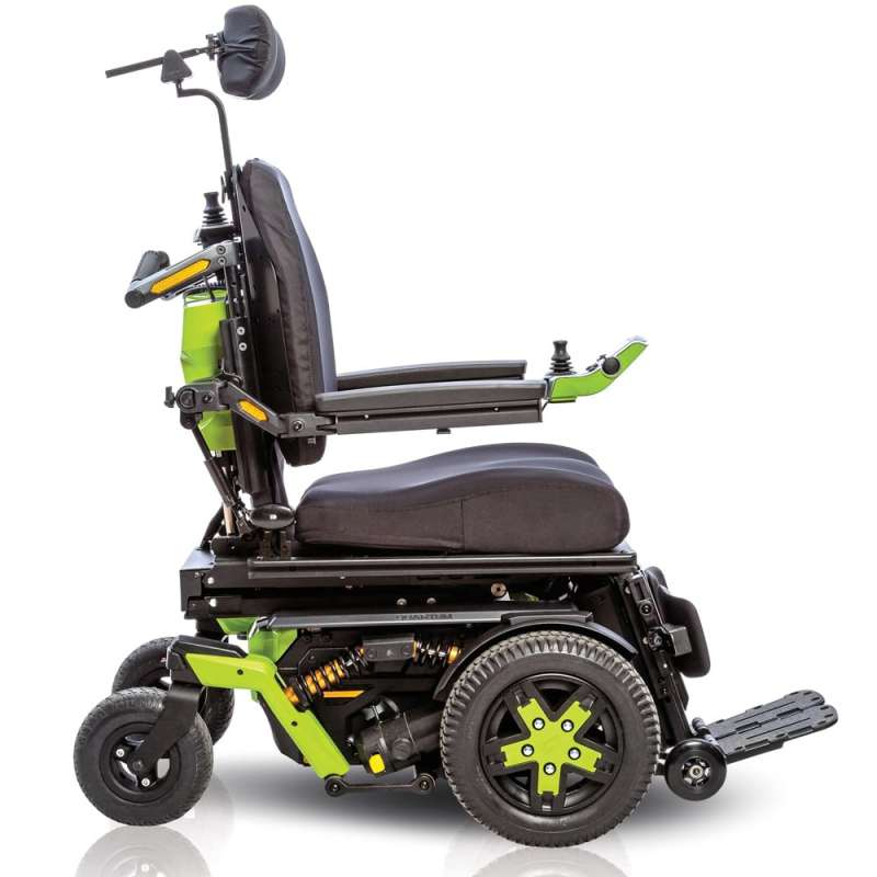 quantum wheelchair how to make slipcover for wingback chair 4front powered basingstoke winchester newbury front wheel drive power