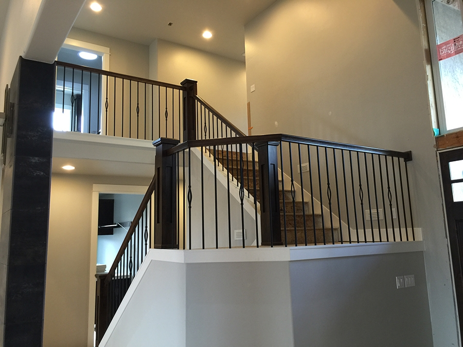Stair Gallery Heritage Stairs | Modern Newel Post Designs | Contemporary | Maple | Staircase Spindle | Modern Box | Hollow