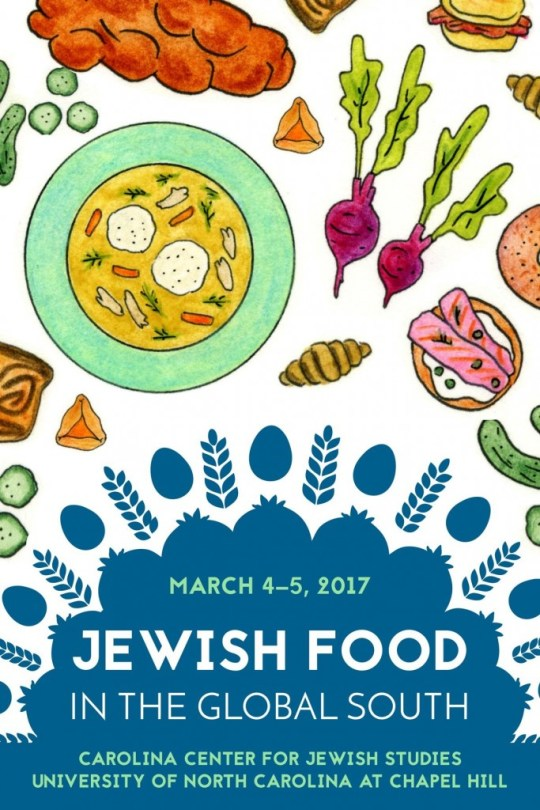 'Jewish Food in the Global South' is a two-day event that will explore the intersection of Jewish and Southern cuisine Credit Carolina Center for Jewish Studies