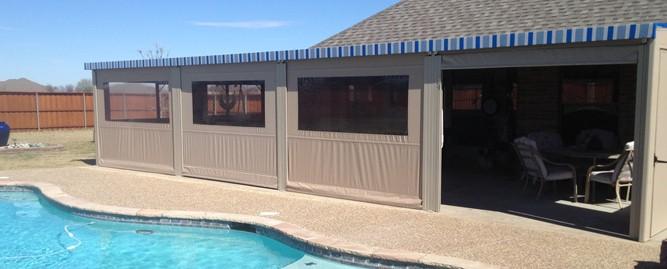 motorized patio enclosures make things
