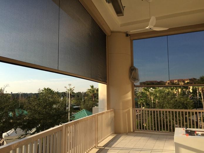 heated enclosed patios