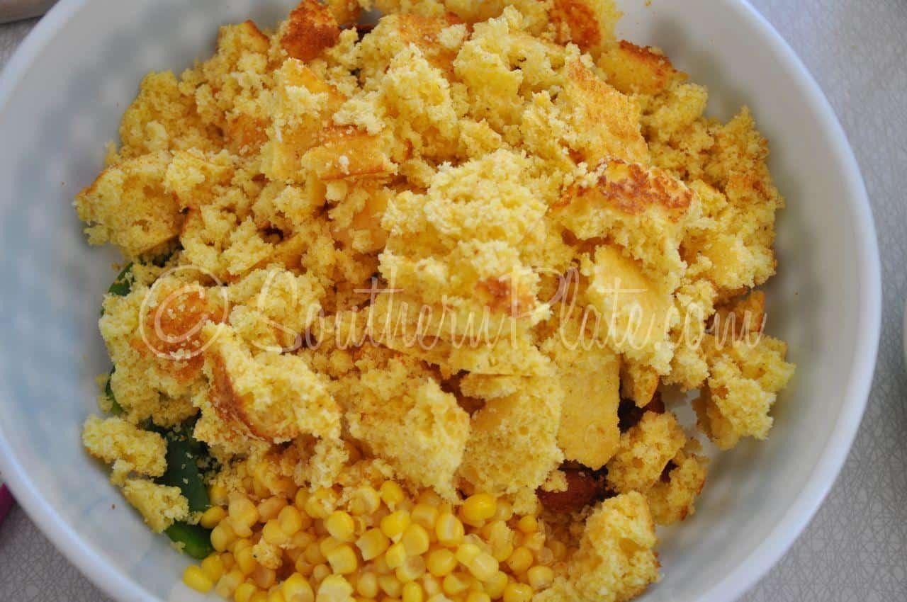 Paula Deen Cornbread Salad Recipe