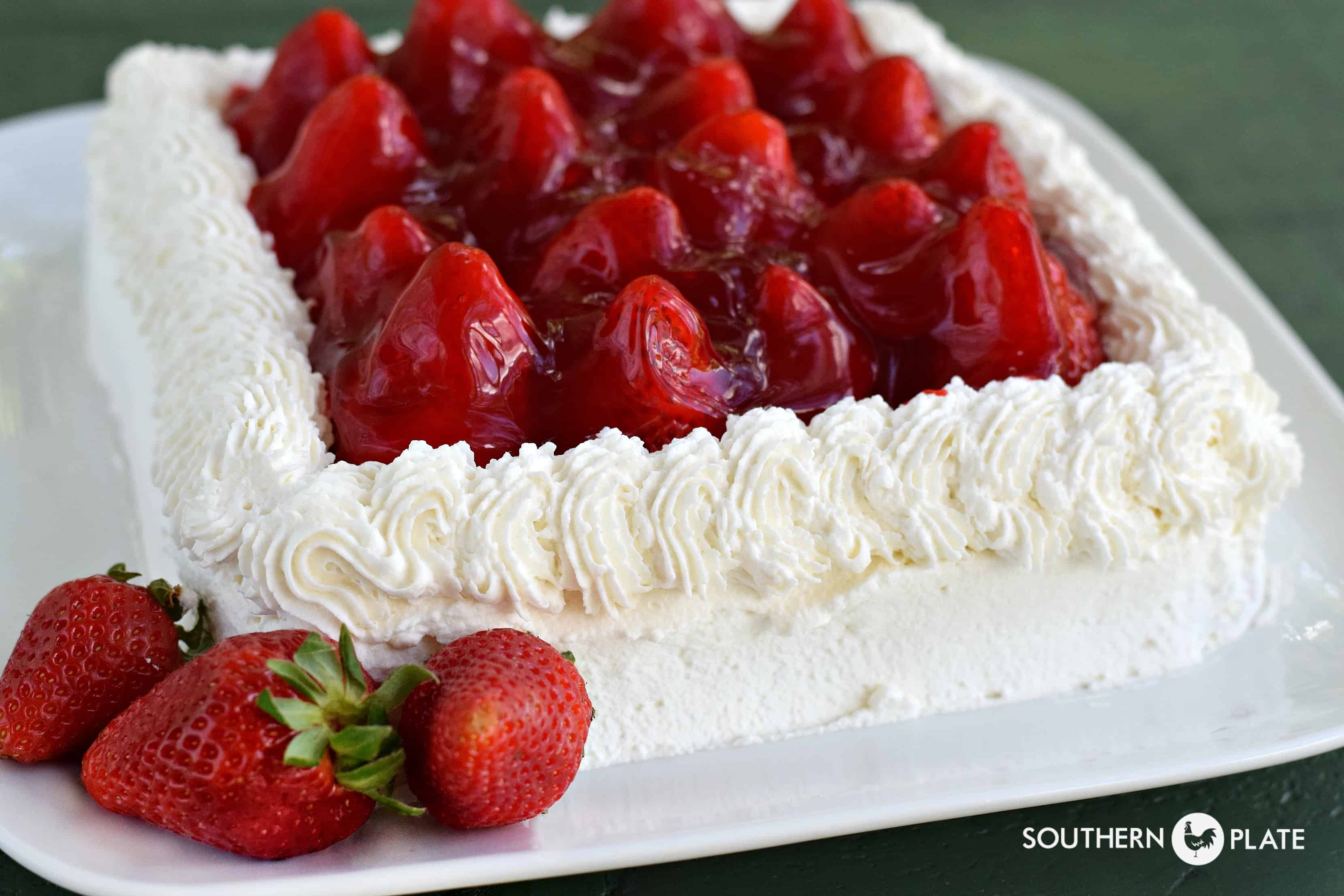 That Strawberry Cake Southern Plate