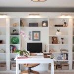 Office Makeover Reveal Ikea Hack Built In Billy Bookcases Southern Revivals