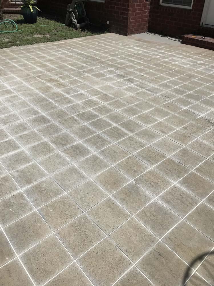 DIY Cement Tile Concrete Patio  Southern Revivals