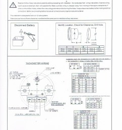 tach wiring instructions  [ 800 x 1127 Pixel ]