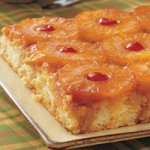 Pineapple Upside Down Cake (9-inch square pan)