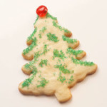 Day 2: Christmas Tree Cookies