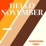 Can't believe it's November already!
