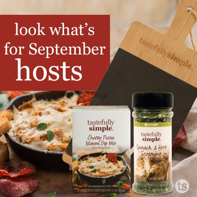 Look what's happening for September hosts.