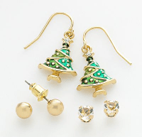 Kohls Deal: Holiday Earring Sets for $3.38 Shipped