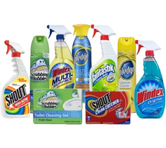 Printable Coupons SC Johnson Cleaning Products