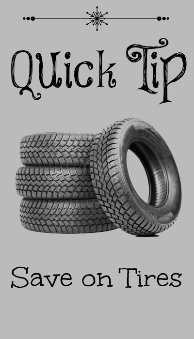 Quick Tip: Ways To Save On Tires :: Southern Savers