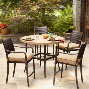hampton bay patio chairs graywash french bistro dining homedepot com furniture on sale for 75 off home depot high set 2