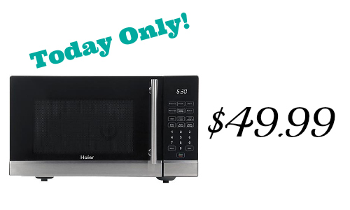 best buy haier microwave 49 99 10 off southern savers
