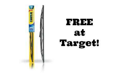 Target Deal: FREE Rain X Wiper Blades After Rebate