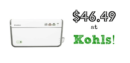 Kohls Coupon Codes: FoodSaver for $46.31 Shipped