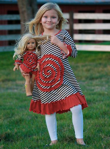 Zulily Matching Girl  Doll Dress Sets 75 off