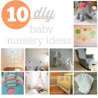 Top 10 DIY Baby Nursery Ideas :: Southern Savers