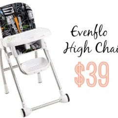 Evenflo Modern 200 High Chair Healthy Computer Walmart Deal 39 Southern Savers Looking For A Great On Has The With Crayon Scribbles