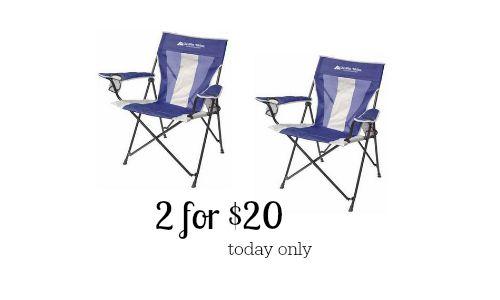 walmart chairs camping skate mesh ergonomic chair ozark trail 10 southern savers tension