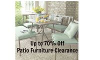 Patio Furniture Clearance | 70% Off at Kmart :: Southern ...
