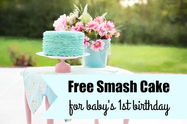 free smash cake on
