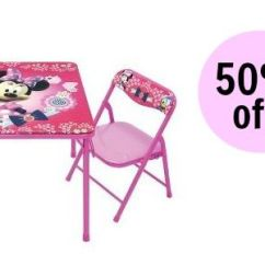 Minnie Table And Chairs Cream Leather Occasional Target 50 Off Mouse Set Southern Savers