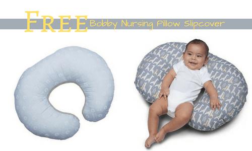 BabiesRUs Deal  Free Boppy Nursing Pillow Slipcover