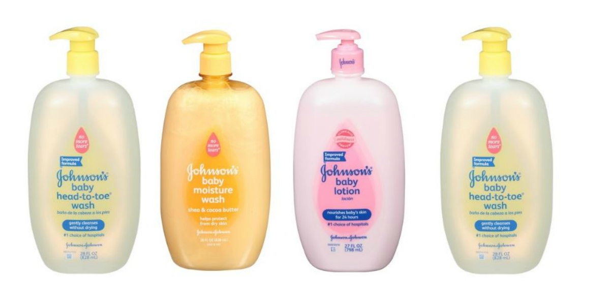 Johnson's Baby Care Products, $1.32 ea. :: Southern Savers