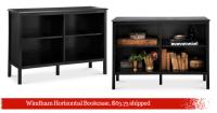 Windham Horizontal Bookcase, $63.73 shipped :: Southern Savers
