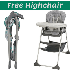 Graco High Chair Coupon Stickley Dining Plans Code Free Slim Snacker Highchair Southern Savers