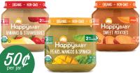 Happy Baby Coupon | Makes Organic Baby Food 50 Per Jar ...
