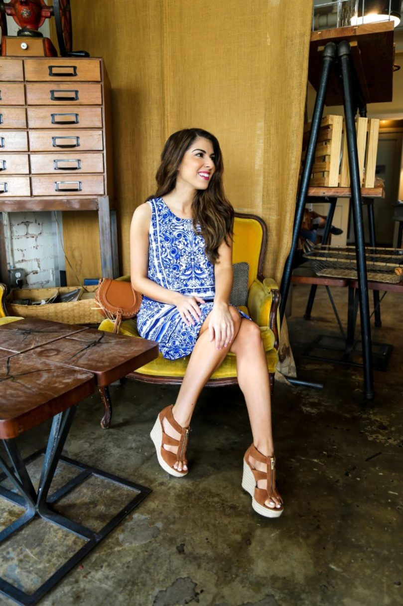 Paisley Print Dress for Spring and Summer